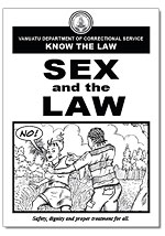 Sex and the Law book